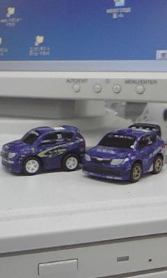 インプレッサのプルバックカー